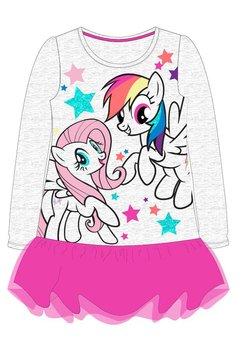 Rochie, maneca lunga, Pony, roz