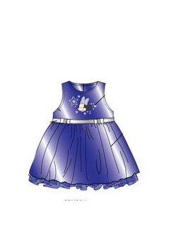 Rochie minnie mouse albastra  0735