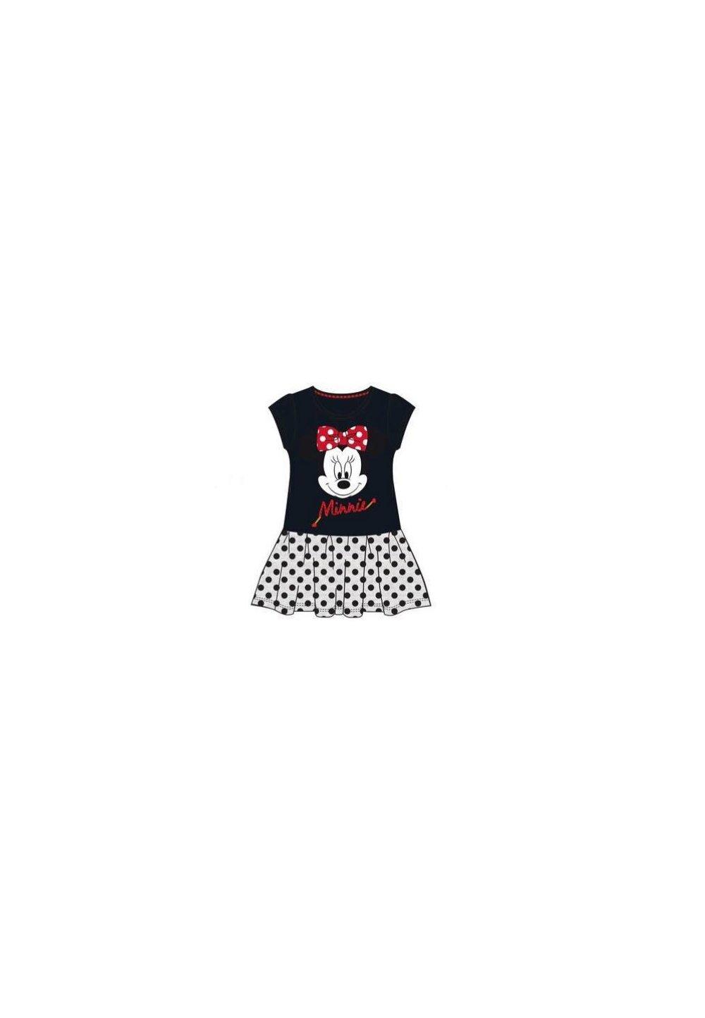 Rochie neagra cu buline, Minnie Mouse imagine