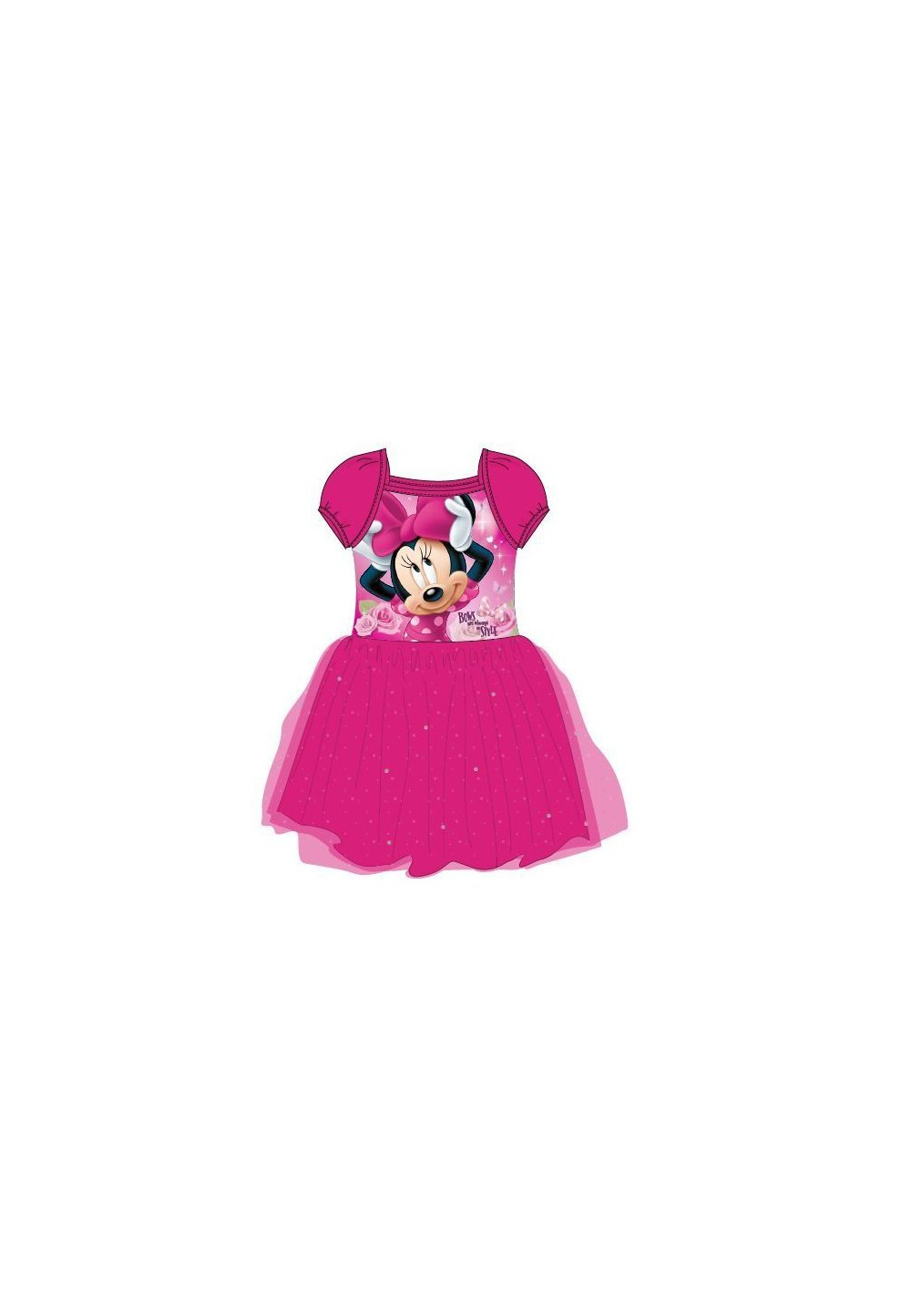Rochie tutu, roz, Bows are always in style imagine