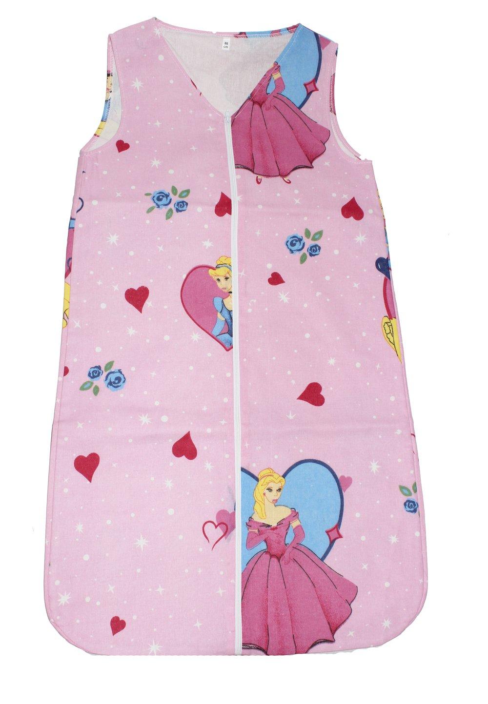 Sac de dormit vara Princess roz imagine