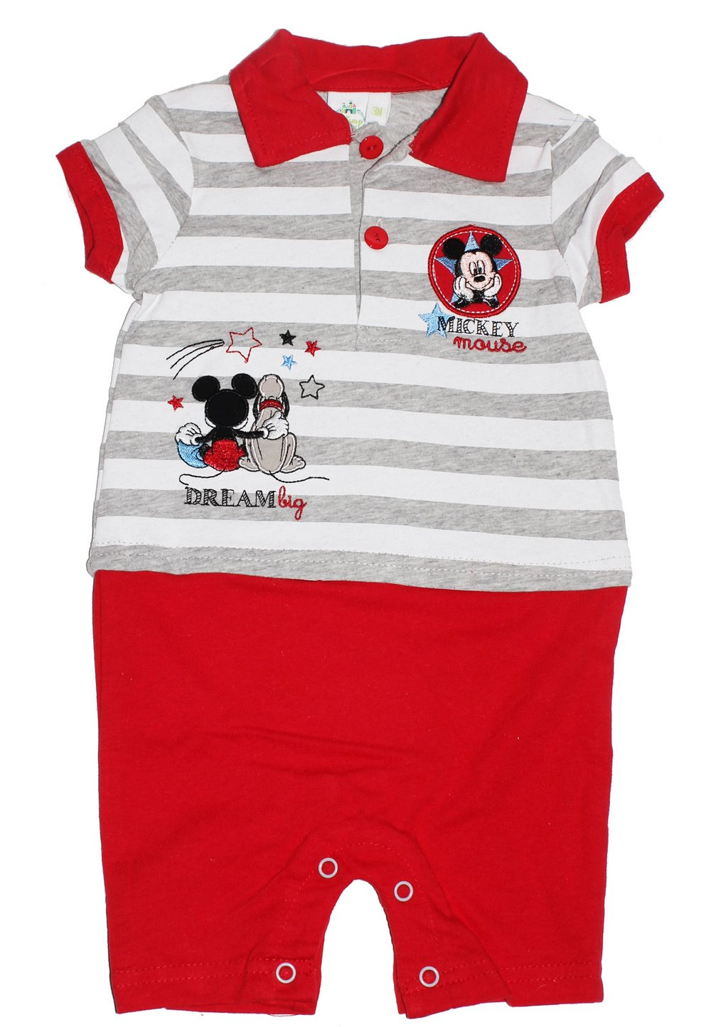 Salopeta Bebe Maneca Scurta, Mickey Mouse, Dream, Rosie