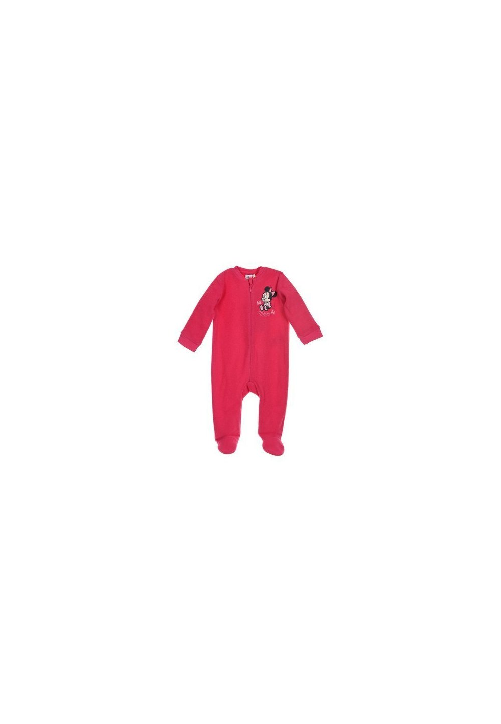 Salopeta fleece, roz inchis, Minnie imagine