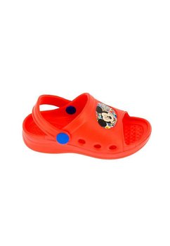 Sandale plaja, rosii, Mickey Mouse