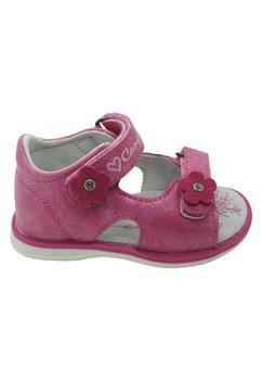 Sandale roz, cu floricele