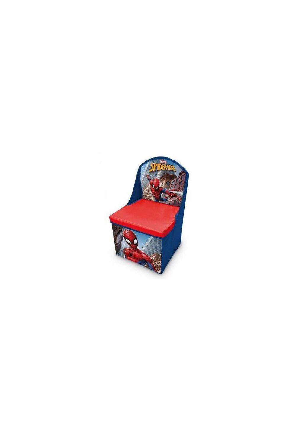 Scaun pliabil Spiderman, albastru imagine