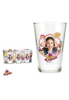 Set 3 pahare, sticla, Soy Luna