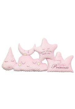 Set 5 pernute Minky, roz