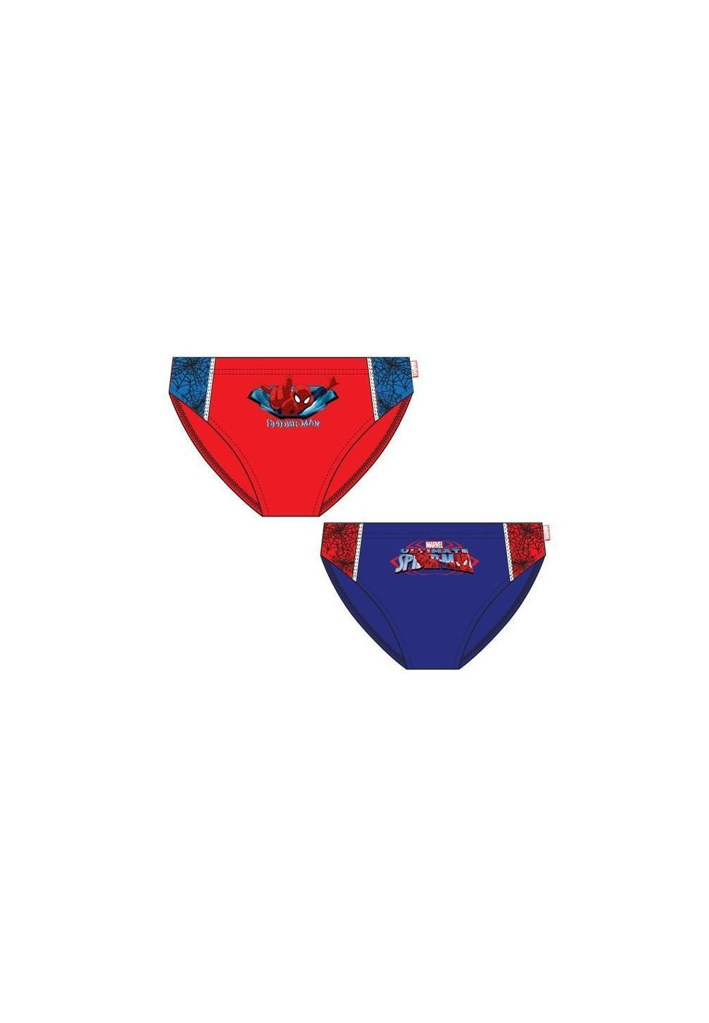 Slip de baie albastru, Spider-Man imagine