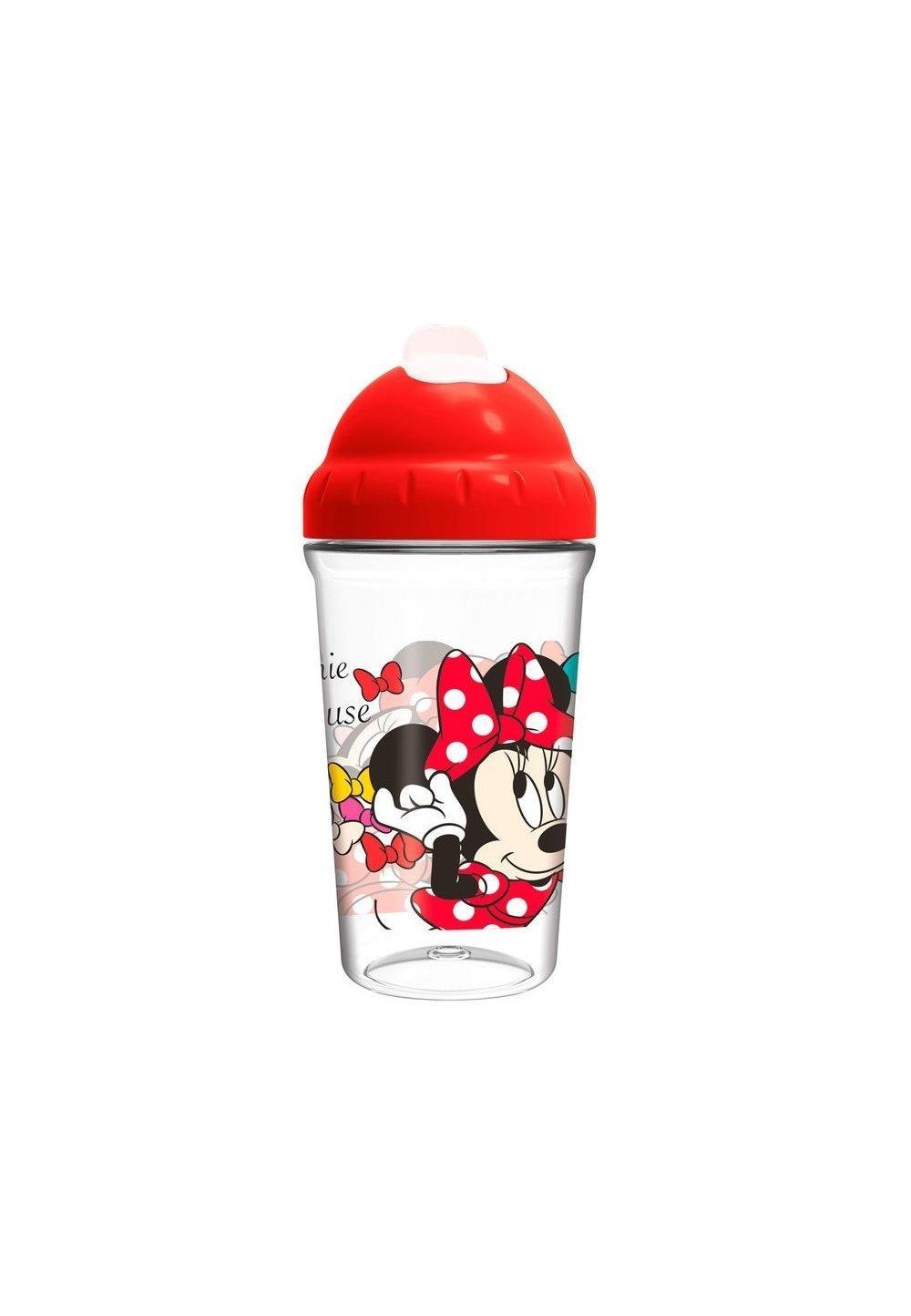 Sticla cu pai, Minnie Mouse, rosie, +10luni imagine