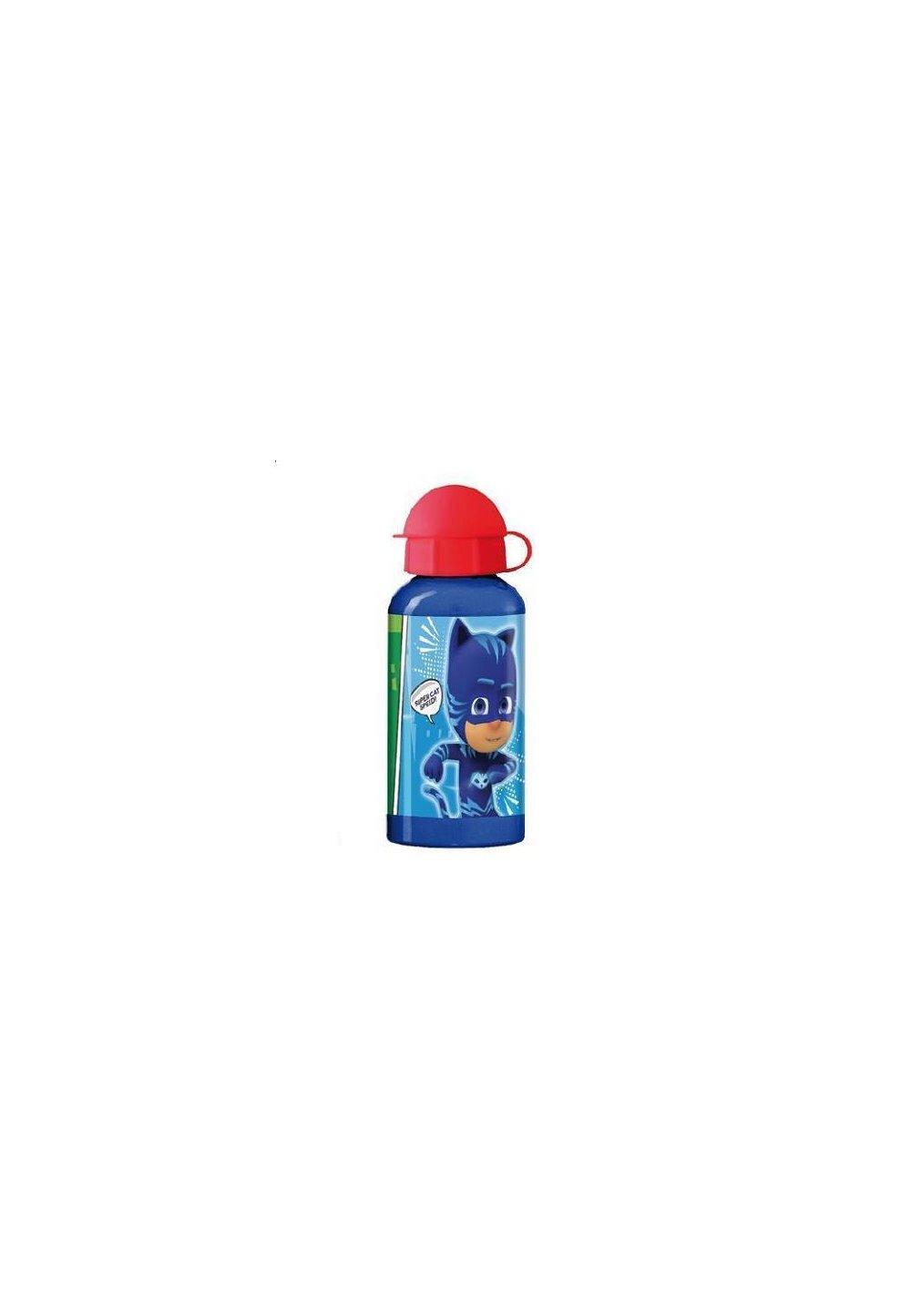 Sticla de aluminiu 400 ml, Eroii in Pijama, albastra imagine