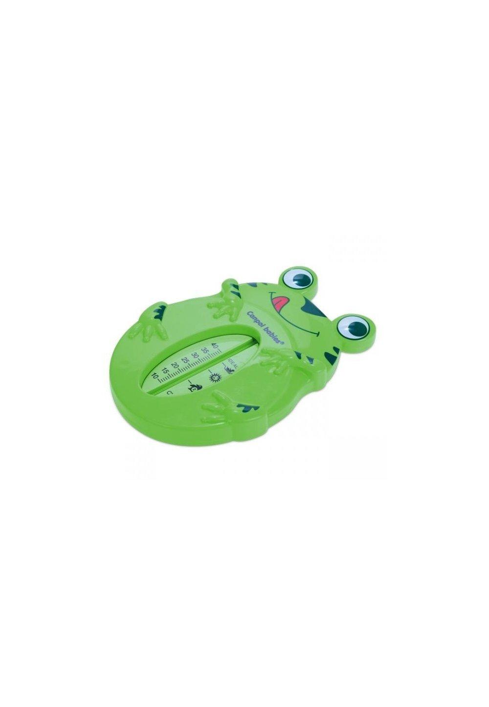 Termometru baie, broscuta, verde imagine