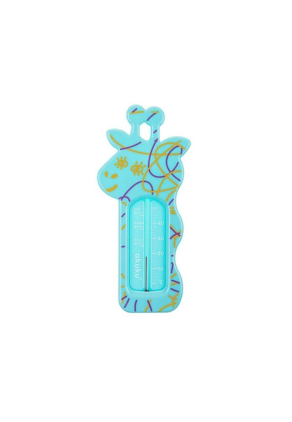 Termometru baie, girafa, turcoaz imagine