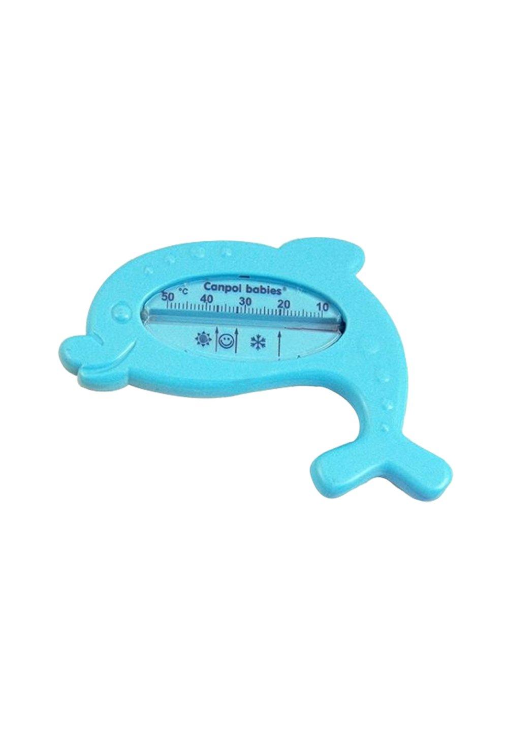 Termometru delfin, albastru imagine