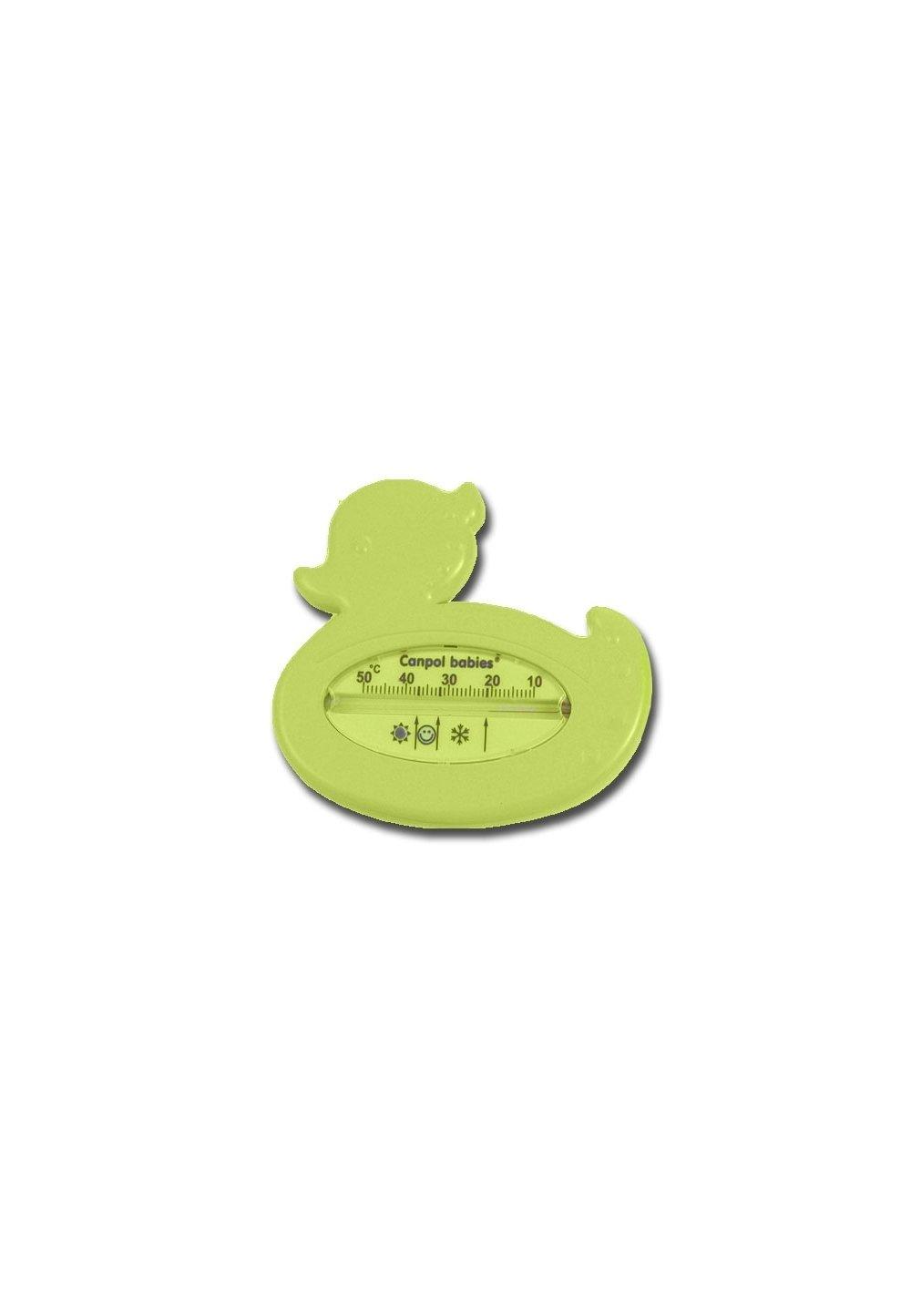 Termometru pentru baie, ratusca, verde deschis imagine