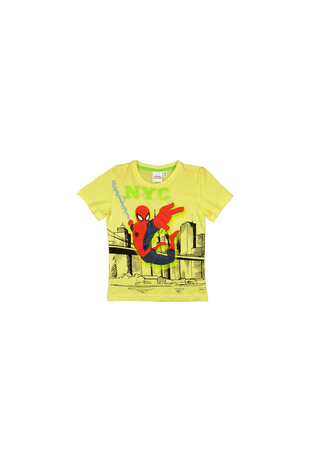 Tricou galben, Spider-Man, NYC imagine