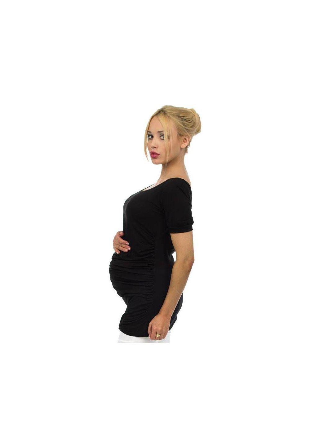 Tricou gravide, negru imagine