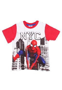 Tricou rosu, NYC, Spider