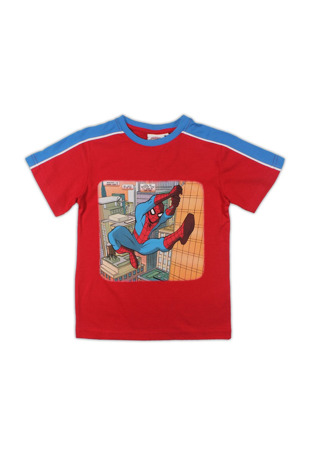 Tricou Spider-Man, rosu cu albastru imagine