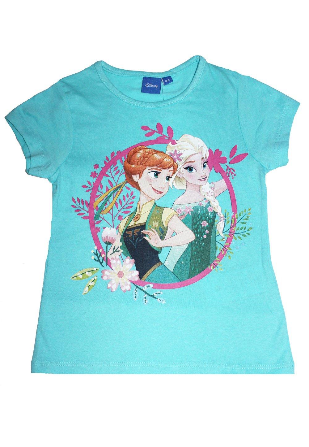 Tricou turcoaz, Anna si Elsa imagine