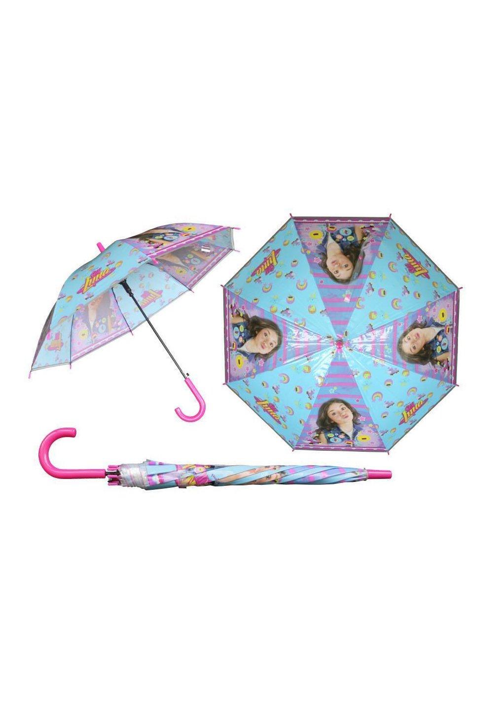 Umbrela automata Soy Luna, albastra cu dungi imagine