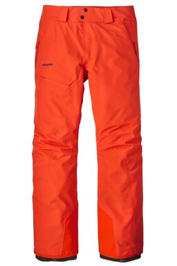 Pantaloni Patagonia Powder Bowl Paintbrushed Red (Membrană dublă Gore-Tex)