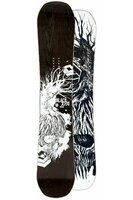 Placă Snowboard FTWO Blackdeck Wood 18/19