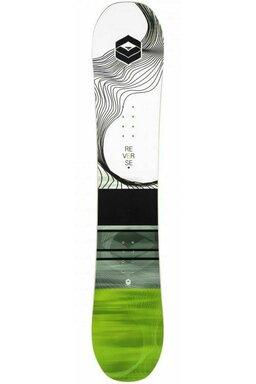 Placă Snowboard FTWO Reverse Flatrocker Green
