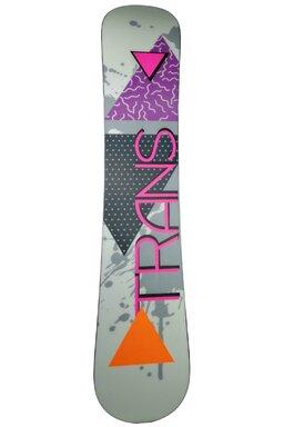 Placă Snowboard Trans FE Girl White FW 17/18