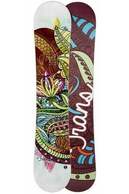 Placă Snowboard Trans FE Rocker Girl White 18/19