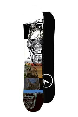 Placă Snowboard Trans LTD Flatrocker White 20/21