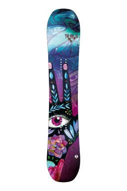 Placă Snowboard Trans LTD Girl Black FW 17/18