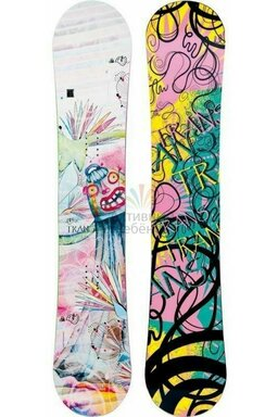 Placă Snowboard Trans Style Girl White 2013/14