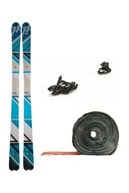 Set Ski de Tură Volkl Qanik Marker Alpinist 9 (Schiuri + Piei + Legături)
