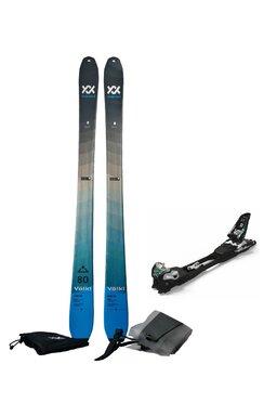 Set Ski de Tură Volkl Rise Blue Marker F10 (Schiuri + Piei + Legături)