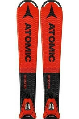 Ski Atomic Redster J2 Set J01 Red/Black + Legături