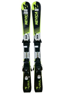 Ski Nevica Vail 4.0 Set In71 Black/Yellow