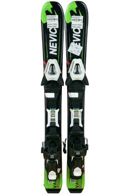 Ski Nevica Vail 4.5 Set In91 Black/Green + Legături Salomon