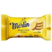 Biscuiti Merlin crema cacao- 52g