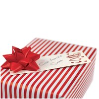 Card personalizare cadouri Rosu 120mm