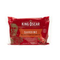 King Oscar sardine baltice sos tomat picant