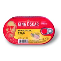Macrou in ulei - King Oscar 170g