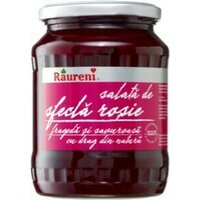 Salata sfecla rosie in otet Raureni 680gr