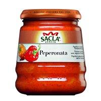 Sos Pepperonata pentru paste cu ardei si rosii Sacla 290gr