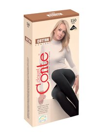 Ciorapi bumbac grosi fara intarituri Conte Elegant Cotton Comfort 150 den