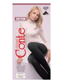 Ciorapi bumbac grosi fara intarituri Conte Elegant Cotton Comfort 450 den