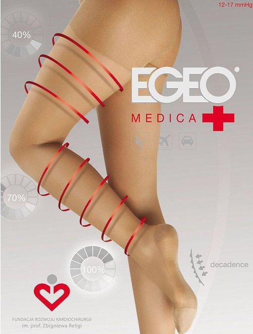 Ciorapi compresivi (12-17 mmHg) Egeo Medica 70 den