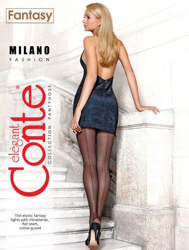 Ciorapi cu dunga eleganta Conte Elegant Milano 30 den