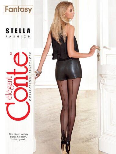 Ciorapi cu dunga eleganta Conte Elegant Stella 20 den