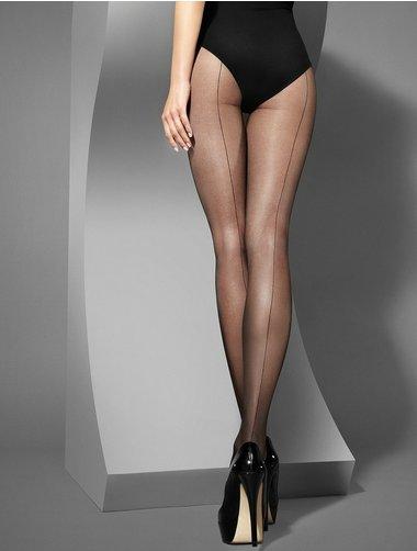 Ciorapi cu dunga Marilyn Lux Line Art Deco 20 den